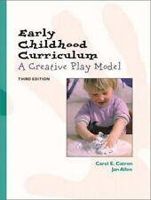 Early Childhood Curriculum: A Creative Play Model (3rd Edition)