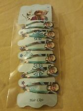 Disney Frozen Anna Elsa Olaf Hair Clips Grips Sleepies Girls