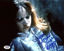 """Linda Blair The Exorcist """"Sweet Dreams!"""" Authentic Signed 8X10 Photo PSA/DNA 1"""