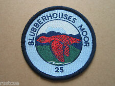 Blubberhouses Moor 25 Style 3 Walking Hiking Woven Cloth Patch Badge