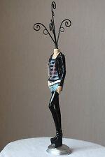 schmuckständer,37cm,erotik,figur,gothic,frau,gothicans,schmuck,ringablage,teeny