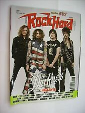 ROCK HARD #7/8 2012 - DARKNESS - RUSH - TESTAMENT - FEAR FACTORY - LITA FORD