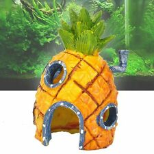 Spongebob Squarepants Pineapple House Fish Tank Aquarium Ornament Home 14cm JK