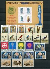 VATICAN 1989 MNH COMPLETE YEAR 23 Stamps & SHEET