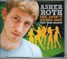 (166T) Asher Roth, She Don't Wanna Man ft Keri H- DJ CD