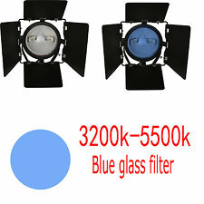 Daylight blue glass filter 800W Red Head REDHEAD Video Studio 3200K TO 5600K