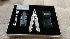 NEW Leatherman Charge Ti Titanium Multi-Tool Premium Leather Sheath in Gift Tin