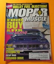MOPAR MUSCLE MAGAZINE FEB/1998....HOW TO FIND, BUY AND FIX YOUR MOPAR