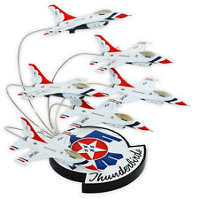 USAF F-16 Thunderbirds In Formation Desk Top Display 1/72 Six 6 Model Airplanes