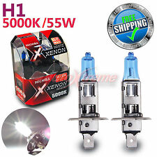 For NISSAN MICHIBA H1 12V 5000K 55W Xenon WHITE Halogen Light Bulbs High Beam 2P