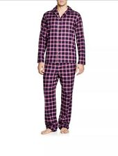New HUGO BOSS Men Checked Red Pajama Set Lounge Gift Box M Or S $259