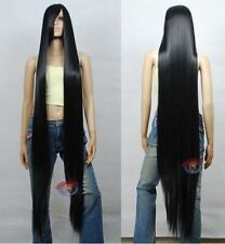 Extra Long Black Cosplay Wig High Temp - CosplayDNA Wigs 150CM