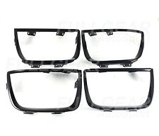 CHEVROLET 2010-2013 CAMARO GLOSSY BLACK TAIL LIGHT BEZEL FRAME COVER 4 PIECE SET