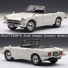 AUTOart 73278 1/18 Honda S800 Roadster 1966 White