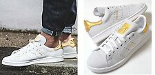 new ADIDAS STAN SMITH 24K shoes mens 11.5 46 white gold sneakers kicks originals