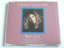 Barbra Streisand - With One Look (CD Single) Used very good