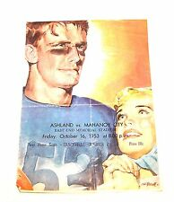 53 Coca Cola Coke High School Football Program Ashland Mahoney City NoRiskOffer