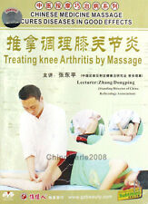 Chinese Medicine Massage Cures Diseases - Treating Knee Arthritis By Massage DVD