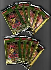Lot of 10 YUGIOH RISE OF DESTINY Booster Packs 1st Edition FREE SHIP to US & CN