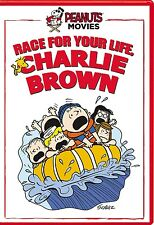 NEW Peanuts: Race for Your Life Charlie Brown DVD