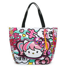 Loungefly Sanrio Hello Kitty Kawaii Large Tote Bag with hanging charms NWT