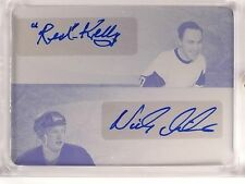 2015-16 Leaf Ultimate Red Kelly & Nicklas Lidstrom autograph auto #D 1/1 *53289