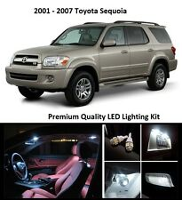 2001 - 2007 Toyota Sequoia Premium White LED Interior Package (11 Pieces)