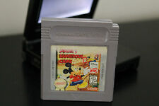 Mickey's Dangerous Chase  (Nintendo Game Boy, 1991) *Tested / GBA Compatible