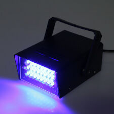 Operated DJ Disco Party Stage Lighting Effects Light 24 LED Mini Strobe Light
