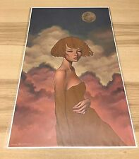Nocturne Giclee Print by Audrey Kawasaki Signed & Numbered Ed 200 + Show Card