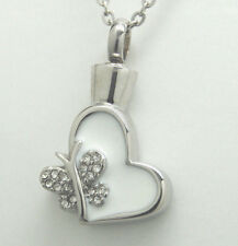 BUTTERFLY CREMATION URN NECKLACE CREMATION JEWELRY BUTTERFLY URN MEMORIAL