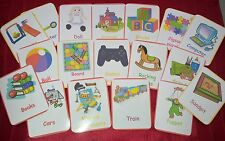 TOYS - 24 FLASH CARDS- BABY TODDLER - CHILDMINDER- TOY ROOM- FUN HOME USE