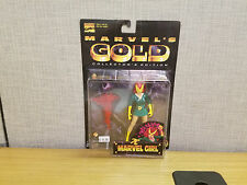 Toybiz Marvel Gold Collector's Edition Marvel Girl action figure, New!