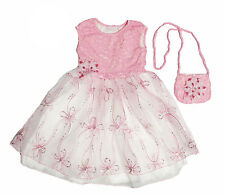 NWT CachCach Girls' Daisy Easter Dress and Purse Set ~ Size 6