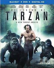 THE LEGEND OF TARZAN Blu-Ray + DVD+ DIGITAL HD 2016 NIB NEW