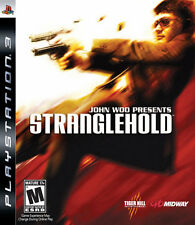 STRANGLEHOLD PS3 PlayStation 3 GAME USED IN GOOD CONDITION