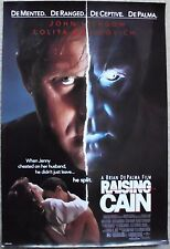 RAISING CAIN ORIG 1992 DS 1SHT MOVIE POSTER ROLLED BRIAN DEPALMA JOHN LITHGOW