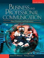 Business and Professional Communication: Plans, Processes, and Performance (4th
