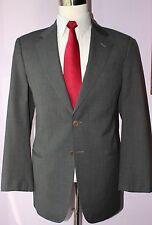 Giorgio Armani Collezioni Side Vented Two Button Gray Wool Suit 40 R 34 30 Flat
