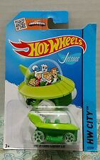 The Jetsons Capsule Car Hot Wheels Die Cast Toy HW City Tooned Birthday Gift Fun