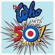 THE WHO Hits 50! 2CD BRAND NEW Best Of Greatest Hits