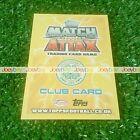 12/13 SPL STAR PLAYER CLUB BADGE CARD MATCH ATTAX 2012 2013