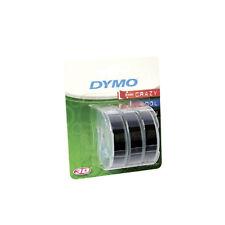 Dymo Impresora de cinta 9mm X 3m Blanco/Negro 3 Pack S0847730