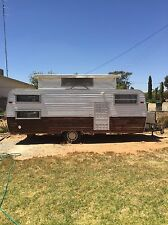 1977 Millard 20ft Pop Top Caravan