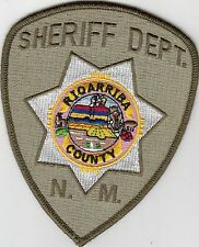 RIO ARRIBA COUNTY SHERIFF'S DEPARTMENT POLICE PATCH NEW MEXICO NM B