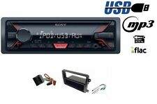 SONY DSX-A200UI Car radio with MP3 USB AUX for VW Golf V VI Jetta Passat Touran