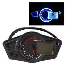 Newly Motorcycle Speedometer Digital Dashboard Tachometer Motor Refit Odometer