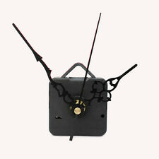 Quartz Clock Movement Mechanism Repair DIY Tool Kit + Black Hands Black Second