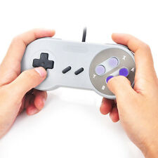 1XWired USB Gaming Game Controller Joystick for Super Nintendo SNES PC Laptop HQ