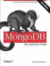 MongoDB: the Definitive Guide by Kristina Chodorow (2013, Paperback)